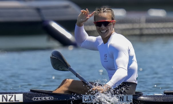 Lisa Carrington is New Zealand's greatest ever Olympian after third Tokyo gold
