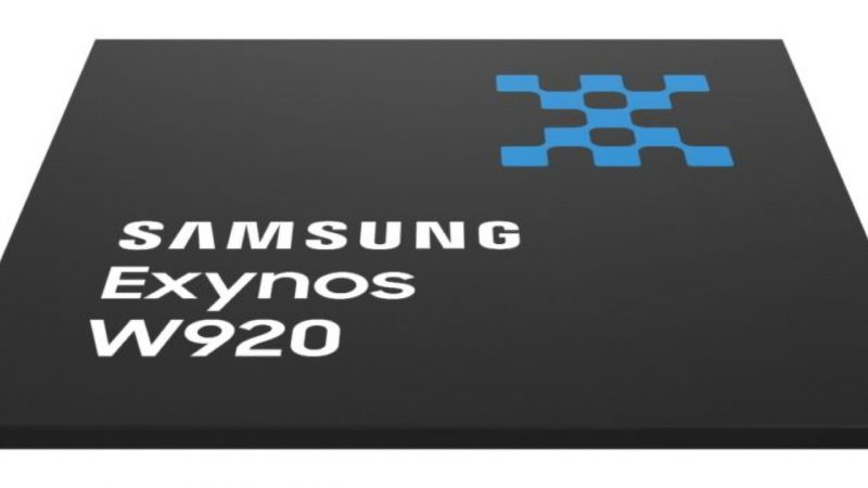 Samsung Exynos W920 is the world's first 5nm processor for wearables